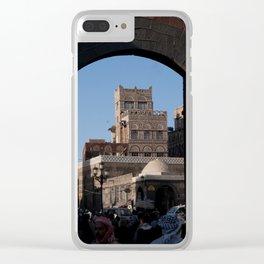 Sanaa Gate Clear iPhone Case