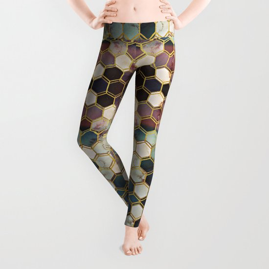 RUGGED MARBLE  Leggings