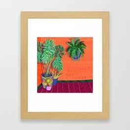 Tropical Plant Fantasy Framed Art Print