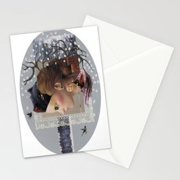 100 years of winter Stationery Cards