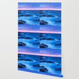 Sunrise in the coastal Wallpaper