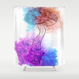 Colourful Mushroom Shower Curtain