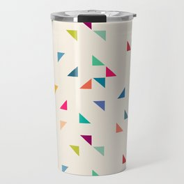 Seamless geometric pattern with triangles Travel Mug