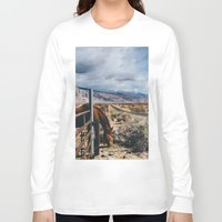 kerouac Long Sleeve T-shirts featuring type-fast (kerouac had a first name) by heretosaveyouall