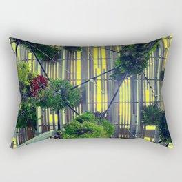Miami urban trees Rectangular Pillow