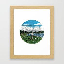 Golf Life Framed Art Print