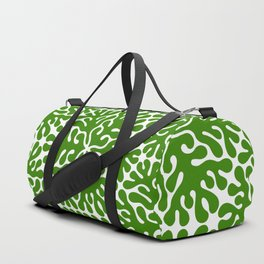Seaweed Hexagon (Green) Duffle Bag