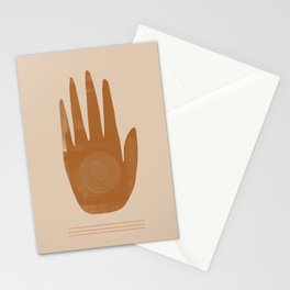 Hand, Boho hand, Southwestern decor Stationery Cards