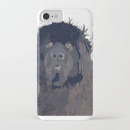 Newfoundland Dog iPhone Case