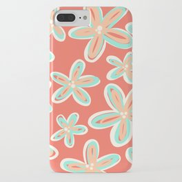 Tropical Flower Power iPhone Case