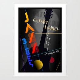 """""""Gatsby Lounge"""" Art Print"""