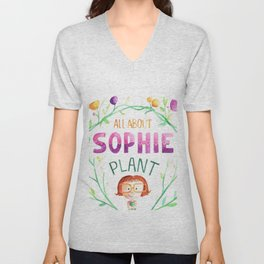 All about sophie Unisex V-Neck