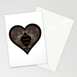 OWL you need is LOVE Stationery Cards