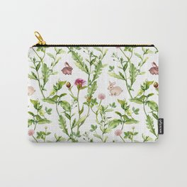 Easter Bunny Garden Carry-All Pouch