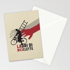 Ladri di biciclette Stationery Cards