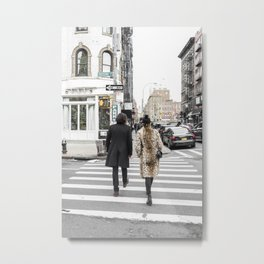 Fashion walk Metal Print