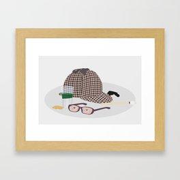 2015: Great Detective Framed Art Print