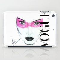 vogue iPad Cases featuring Vogue by Maca