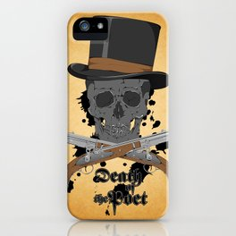 Death of the Poet iPhone Case