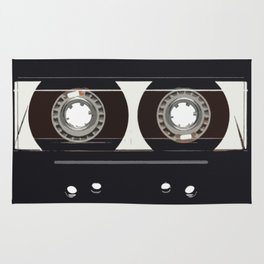 retro old tapes Rug