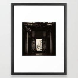 The Outside World Framed Art Print