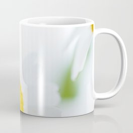 Fine Art Yellow and Green Photograph of Daisies, Flower Coffee Mug