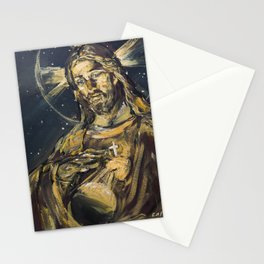 I am the light of the world Stationery Cards