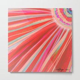 Cosmic Ray of Agave Metal Print