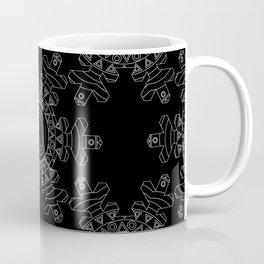 Ornate snowflake - inverted Coffee Mug