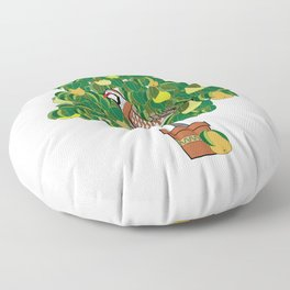 A Partridge in a Pear Tree Floor Pillow