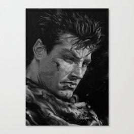 The Black Swordsman Canvas Print