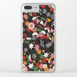 Japanese pattern 79 Clear iPhone Case