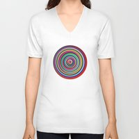circus V-neck T-shirts featuring CIRCUS by THE USUAL DESIGNERS