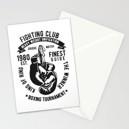 fighting club heavy weight unification Stationery Cards