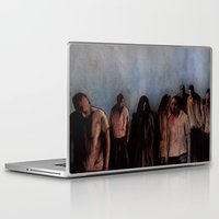 zombies Laptop & iPad Skins featuring ZOMBIES V by Zombie Rust