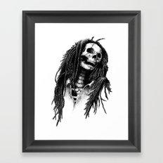 the Legend of Reggae Framed Art Print