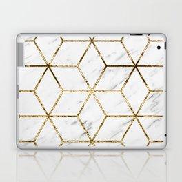 Gatsby golden marble Laptop & iPad Skin