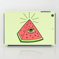 watermelon iPad Cases featuring watermelon by gotoup