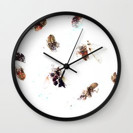Winged Critters 2 Wall Clock