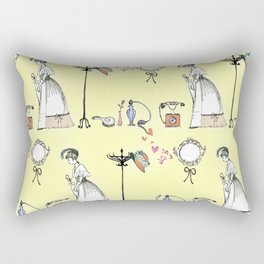 Victorian style Rectangular Pillow