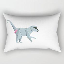 Baboon Origami Rectangular Pillow