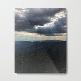 Clingmans Dome on the Appalachian Trail Metal Print