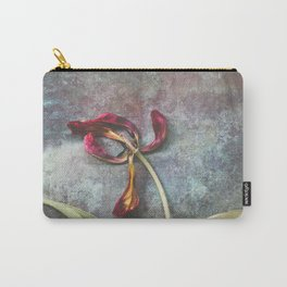 Faded Tulip Carry-All Pouch