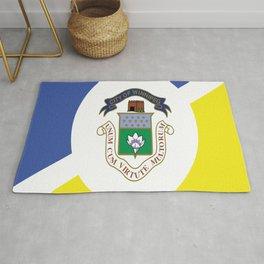 flag of winnipeg Rug