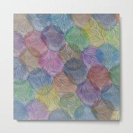 pattern 104 Metal Print