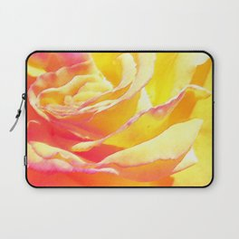 Love and Peace Pastel Rose Laptop Sleeve