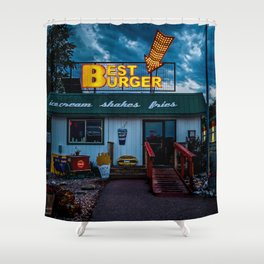 Best Burger Shower Curtain