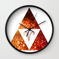 aries Wall Clocks featuring Aries by haroulita