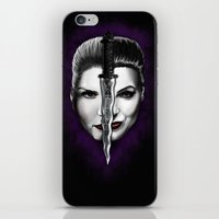 swan queen iPhone & iPod Skins featuring Swan Queen by ibeenthere