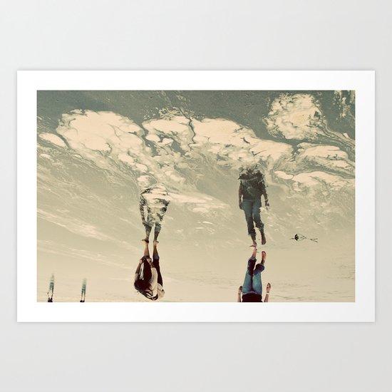 Sky Walkers Art Print